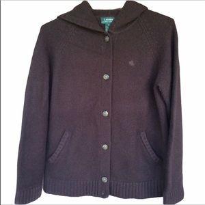 Vintage Ralph Lauren Sweater Coat